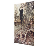 The Kensington Gardens are in London Canvas Print