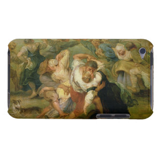 The Kermesse, detail of peasants dancing, c.1635-3 iPod Case-Mate Case