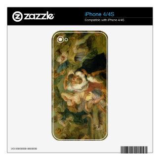 The Kermesse, detail of peasants dancing, c.1635-3 Skin For iPhone 4S
