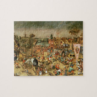 The Kermesse of the Feast of St. George Jigsaw Puzzle
