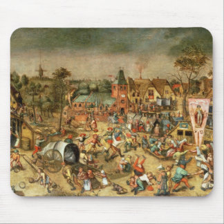 The Kermesse of the Feast of St. George Mouse Pad