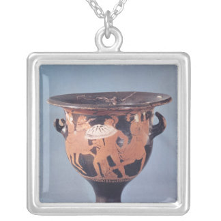The Kertch Krater Silver Plated Necklace