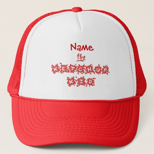 The Ketchup Kid Trucker Hat