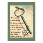 "The Key - Moving Announcement 5"" X 7"" Invitation Card"