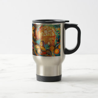 The Key of Jerusalem Travel Mug