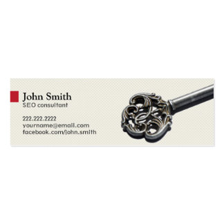 The Key of Your Website Success business card