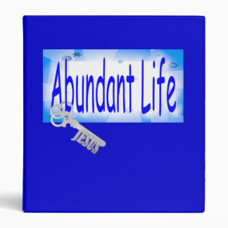 The Key to Abundant Life v2 (John 10:10) 3 Ring Binder