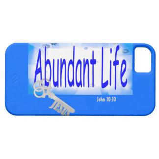The Key to Abundant Life v2 (John 10:10) iPhone 5 Covers