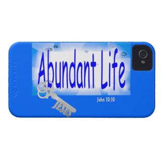 The Key to Abundant Life v2 (John 10:10) iPhone 4 Covers