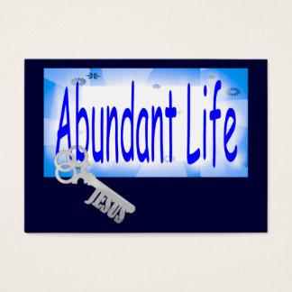 The Key to Abundant Life v2 Tract Card /