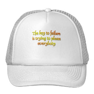 The Key To Failure... Trucker Hat