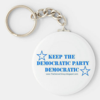 The key to keeping the Democratic Party democratic Keychain