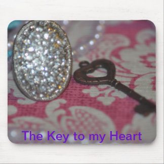 The Key to My heart products Mouse Pad