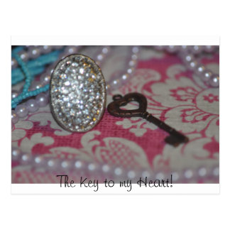 The Key to My heart products Postcard