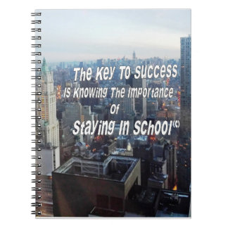 The Key To Success Note Book