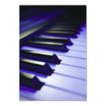 "The Keyboard's Keys 3.5"" X 5"" Invitation Card"