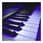 "The Keyboard's Keys 5.25"" Square Invitation Card"