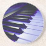 The Keyboard's Keys Beverage Coasters