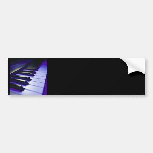 The Keyboard's Keys Car Bumper Sticker