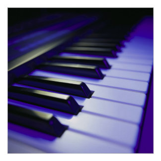 The Keyboard's Keys Poster