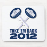 The Keys to The White House Mouse Pads