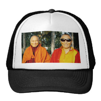The Khenpo Rinpoches in India Hat