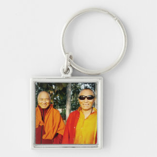The Khenpo Rinpoches in India Keychain