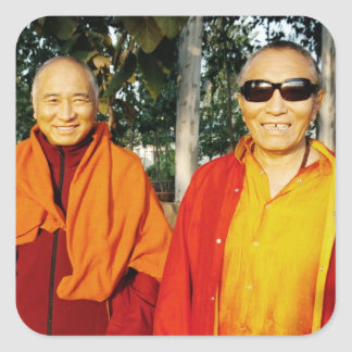 The Khenpo Rinpoches in India Sticker