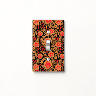 The Khokhloma Kulture Pattern Switch Plate Covers