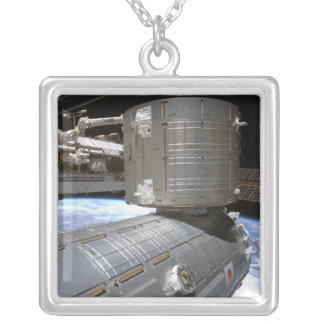 The Kibo Japanese Pressurized Module 2 Silver Plated Necklace