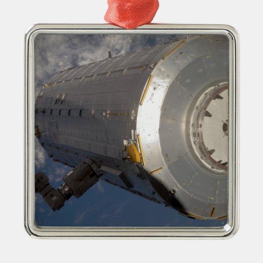The Kibo Japanese Pressurized Module 3 Metal Ornament