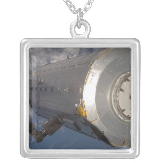 The Kibo Japanese Pressurized Module 3 Silver Plated Necklace