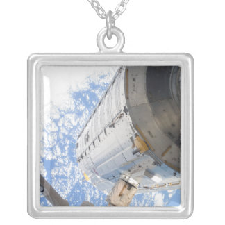 The Kibo Japanese Pressurized Module Silver Plated Necklace