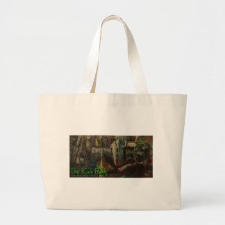 the kick back tote bag