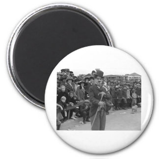 The Kid Auto Races at Venice (1914) 2 Inch Round Magnet