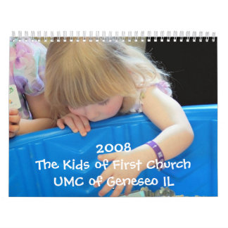 The Kids of First Church Calendars
