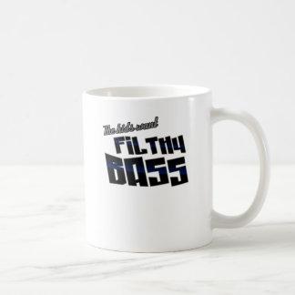 The kids want FILTHY BASS funny DJ Dubstep Coffee Mug