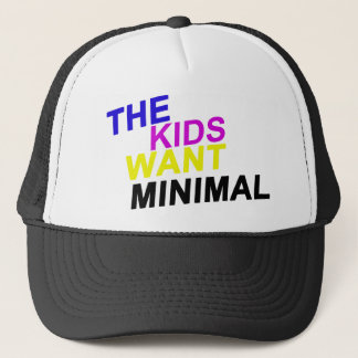 The Kids Want Minimal Cap
