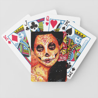 The Kill - Day of the Dead Girl Bicycle Playing Cards