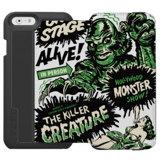 The Killer Creature Hollywood Show iPhone 6/6s Wallet Case
