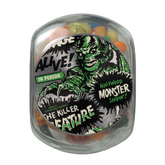 The Killer Creature Hollywood Show Jelly Belly Candy Jars