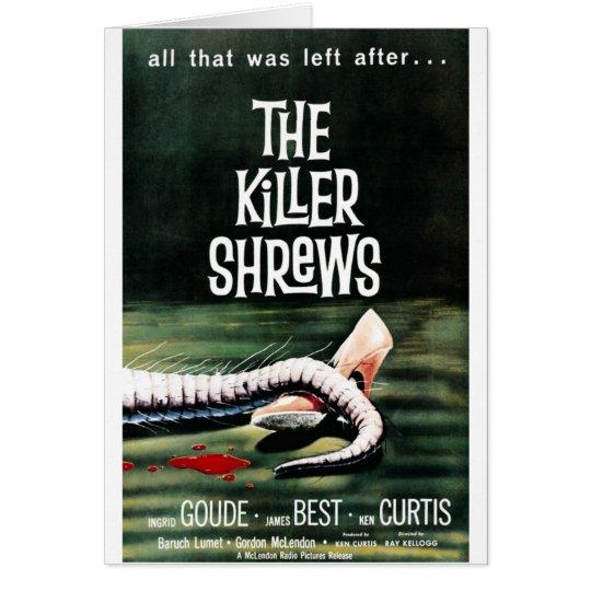 """""""The Killer Shrews"""" Card"""