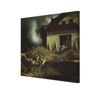 The Kiln at the Plaster Works Canvas Print