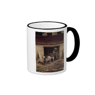 The Kiln at the Plaster Works Ringer Mug