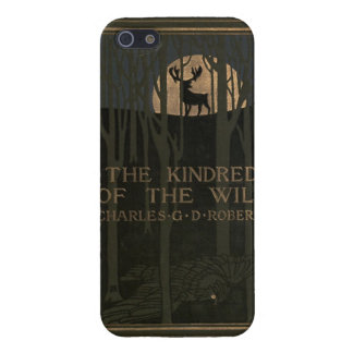 The kindred of the wild a book of animal life 1902 iPhone 5 covers