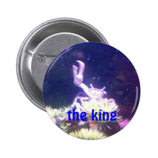 the king 2 inch round button