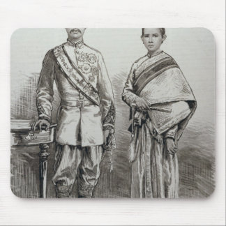The King and Queen of Siam Mouse Pad