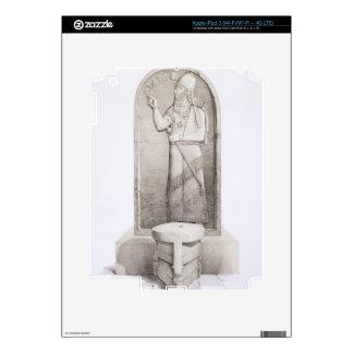 The King and Sacrificial Altar, Nimrud, plate 4 fr iPad 3 Decal