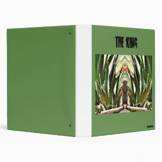 """The King"" Avery Ring Binder"