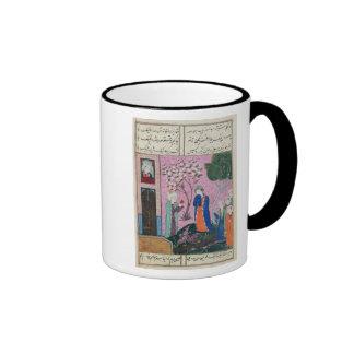 The king bids farewell ringer coffee mug